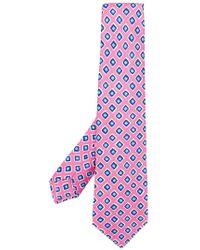 Kiton | Geometric Print Tie | Lyst