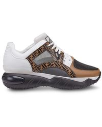 Fendi - Klobige Sneakers - Lyst