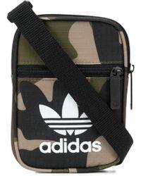 adidas - Trefoil Camouflage Shoulder Bag - Lyst