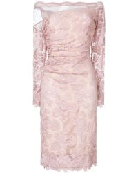 Olvi ́S - Lace Fitted Dress - Lyst