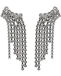 Isabel Marant - Crystal Drop Chandelier Earrings - Lyst