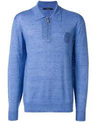 Billionaire - Longsleeved Polo Shirt - Lyst