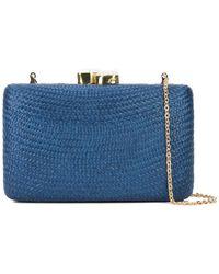 Kayu - Chain Strap Woven Clutch Bag - Lyst