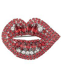 Ermanno Scervino - Broche Lips con detalles - Lyst