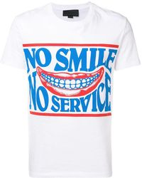 Stella McCartney - No Smile T-shirt - Lyst