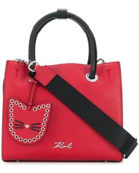 Karl Lagerfeld - Karry All Mini Shopper Tote - Lyst