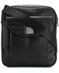 Armani Jeans   Square Messenger Bag   Lyst