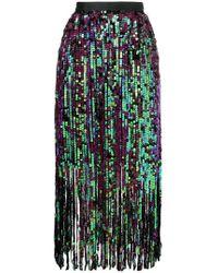 Manoush - Fringe Sequin Skirt - Lyst