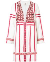 Figue - Embroidered Oversized Jacket - Lyst