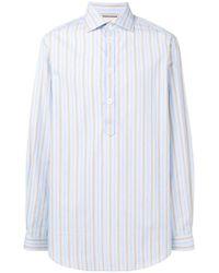 109de29951d4 Lyst - Gucci Button Down Shirt in Black for Men