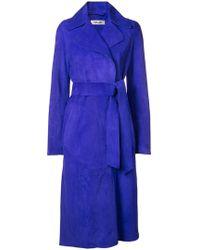 Diane von Furstenberg - Tie-waist Trench Coat - Lyst