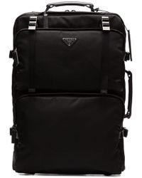 Prada - Logo Trolley Travel Bag - Lyst