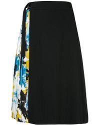 Guild Prime - Floral Pleated Panel Midi Skirt - Lyst