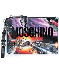 Moschino - Transformer Clutch - Lyst