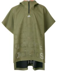 adidas Originals - Oversized Rain Jacket - Lyst