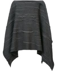 Label Under Construction - Textured Cape - Lyst