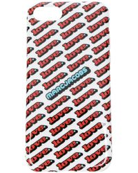 Marc Jacobs - Love Print Iphone 7/8 Case - Lyst