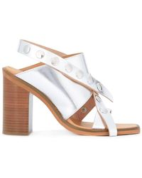 MM6 by Maison Martin Margiela - Criss Cross Sandals - Lyst