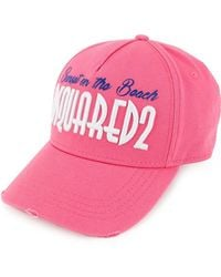 DSquared² | Sunset On The Beach Embroidered Baseball Cap | Lyst
