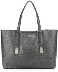 Tosca Blu - Creased Large Tote Bag - Lyst