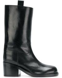A.F.Vandevorst - Pull-on Midi Boots - Lyst