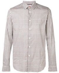 PS by Paul Smith - Printed Slim Fit Shirt - Lyst
