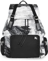 Burberry - The Extra Large Rucksack In Dreamscape Print - Lyst