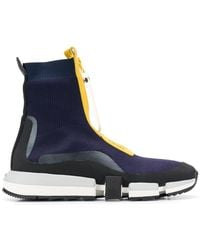 DIESEL Sock-Sneakers mit Reißverschluss
