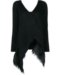 Simone Rocha - Patchwork Knitted Cardigan - Lyst