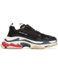 Balenciaga - Black Triple S Sneakers - Lyst