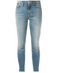 Mother - The Looker Ankle Grazer Jeans - Lyst