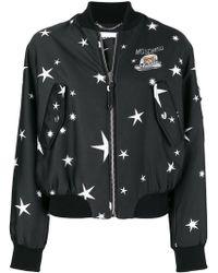 Moschino - Teddy Star Bomber Jacket - Lyst