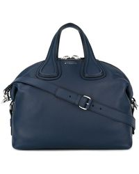 Givenchy - Medium Nightingale Leather Tote - Lyst