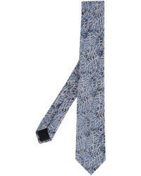 Cerruti 1881 - Floral Print Tie - Lyst