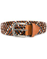 Etro - Braided Buckle Belt - Lyst
