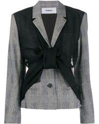 Chalayan Asymmetrische Jacke