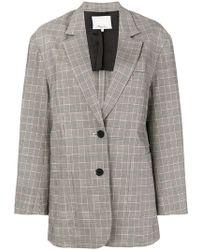 3.1 Phillip Lim - Oversized Button Blazer - Lyst
