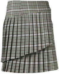 P.A.R.O.S.H. - Asymmetric Mini Skirt - Lyst
