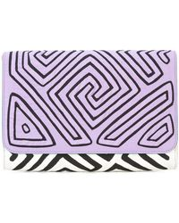Mola Sasa - Geometric Clutch Bag - Lyst