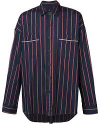 Fear Of God - Striped Pajama Shirt - Lyst