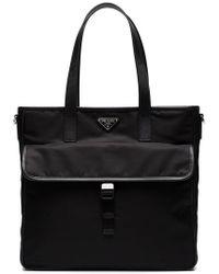 Prada - Two Pocket Tote Bag - Lyst