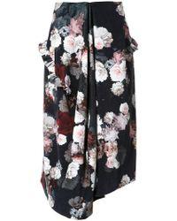 Preen By Thornton Bregazzi - Flower Print Skirt - Lyst