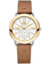 Fendi - Selleria Watch With Interchangeable Strap - Lyst