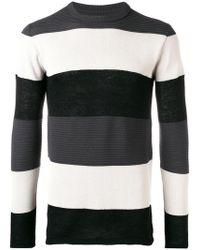 Rick Owens - Sweatshirt mit Streifen - Lyst