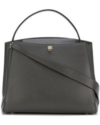 Valextra - Textured Tote Bag - Lyst