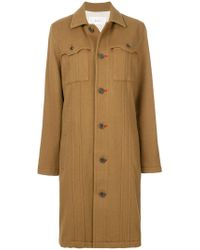Julien David - Pocket Detail Coat - Lyst