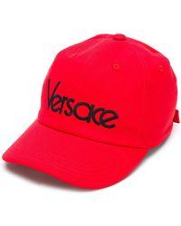 Versace - Font Logo Cap - Lyst