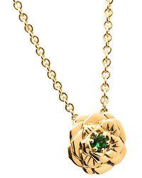 Aurelie Bidermann - Rose Pendant Necklace - Lyst