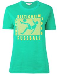 Junya Watanabe - Football Print T-shirt - Lyst