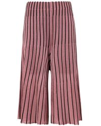 Osklen - Pleated Bicolor Pants - Lyst